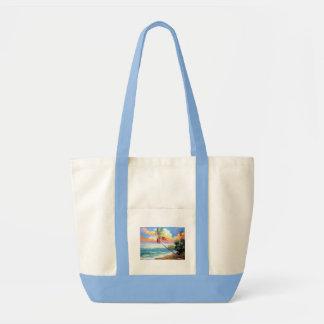 ハンドバッグの熱帯ビーチ トートバッグ