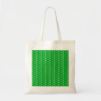 ハンドバッグの緑のグリッター トートバッグ