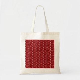 ハンドバッグの赤く暗いグリッター トートバッグ