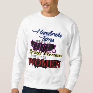 ハンドブレーキ対薄い力 スウェットシャツ