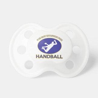 ハンドボールのデザイン おしゃぶり