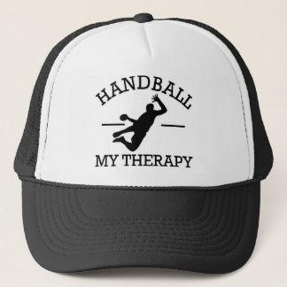ハンドボールのデザイン キャップ