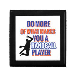 ハンドボールのデザイン ギフトボックス