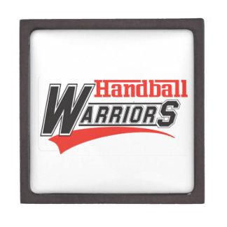 ハンドボールの戦士のデザイン ギフトボックス