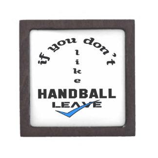 ハンドボールの許可を好まなければ ギフトボックス
