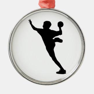 ハンドボールプレーヤー メタルオーナメント