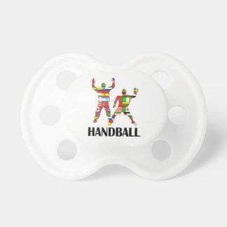 ハンドボール おしゃぶり