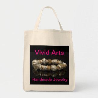 ハンドメイドの宝石類 トートバッグ