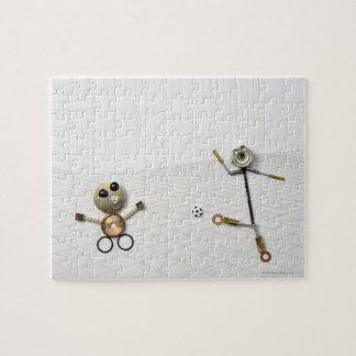 ハンドメイドの物の人形さまざまな2 ジグソーパズル