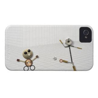 ハンドメイドの物の人形さまざまな2 Case-Mate iPhone 4 ケース