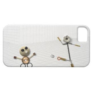 ハンドメイドの物の人形さまざまな2 iPhone SE/5/5s ケース