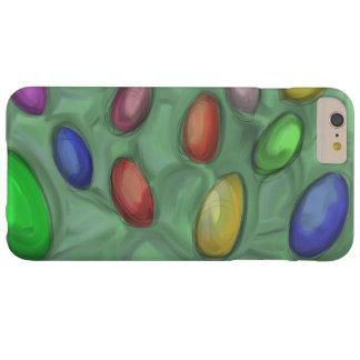 ハンドメイドカラフルの卵の絵を描くこと。 BARELY THERE iPhone 6 PLUS ケース