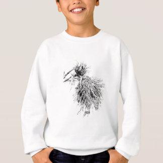 ハンドメイド花のスケッチのスケッチの芸術 スウェットシャツ