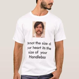 ハンドルバーあなたのハートのないサイズt… tシャツ
