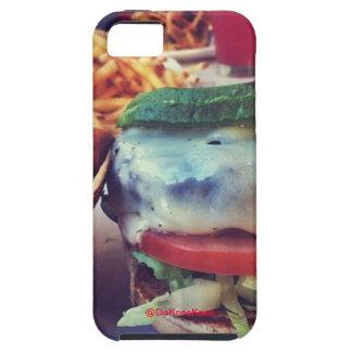 ハンバーガーおよび揚げ物のIpone 5の場合 iPhone SE/5/5s ケース