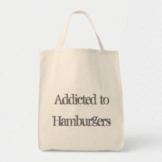 ハンバーガーに熱中される トートバッグ