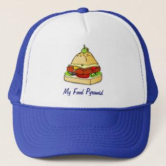 ハンバーガーのピラミッド キャップ