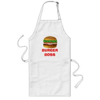 ハンバーガーのボス ロングエプロン