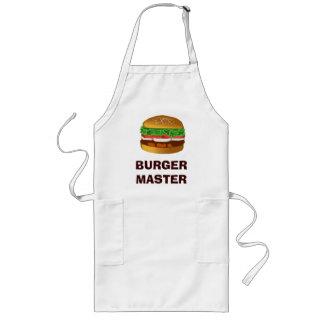 ハンバーガーのマスター ロングエプロン