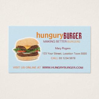 ハンバーガーの名刺 名刺