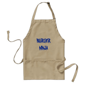 ハンバーガーの忍者 スタンダードエプロン