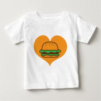 ハンバーガーの恋人 ベビーTシャツ