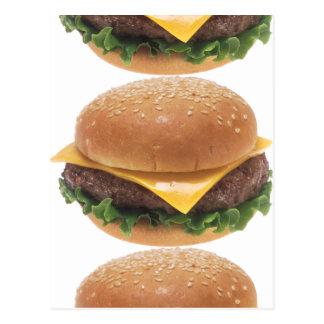 ハンバーガーの接合箇所 ポストカード