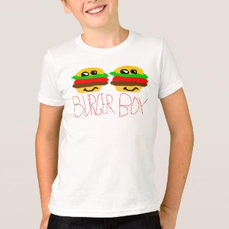 ハンバーガーの男の子 Tシャツ