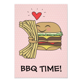 ハンバーガーは揚げ物BBQを愛します カード