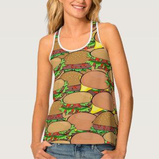 ハンバーガー愛 タンクトップ
