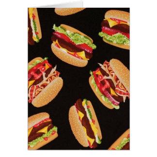 ハンバーガー カード