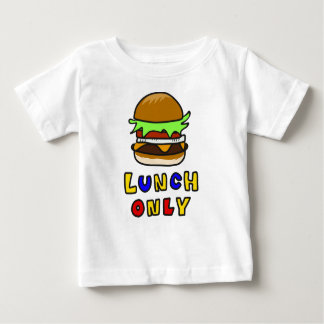 ハンバーガー ベビーTシャツ