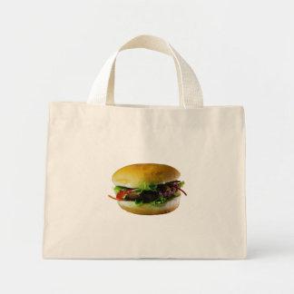 ハンバーガー ミニトートバッグ