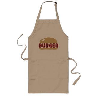 ハンバーガー ロングエプロン