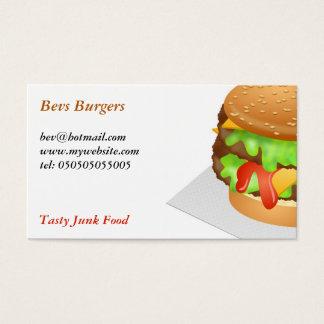 ハンバーガー 名刺
