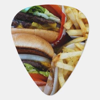 ハンバーガー「nの揚げ物 ギターピック