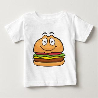 ハンバーガーEmoji ベビーTシャツ