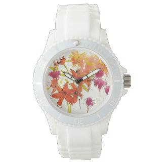 ハンバーグのプラム 腕時計