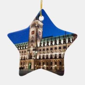 ハンブルク市庁舎 セラミックオーナメント