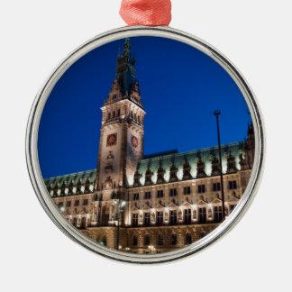 ハンブルク市庁舎 メタルオーナメント
