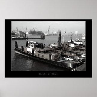 ハンブルク港 ポスター