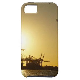 ハンブルク港 iPhone SE/5/5s ケース