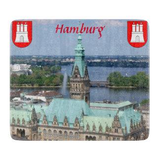 ハンブルクTownhall Glasまな板 カッティングボード