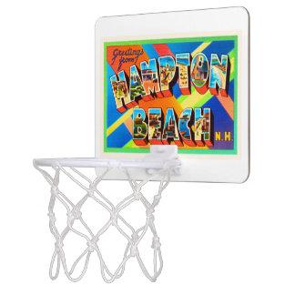 ハンプトンのビーチ#2ニューハンプシャーNH旅行記念品 ミニバスケットボールゴール