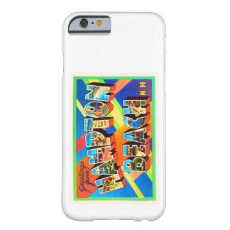 ハンプトンのビーチ#2ニューハンプシャーNH旅行記念品 BARELY THERE iPhone 6 ケース