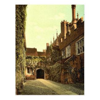 ハンプトンコート宮殿の出入口、ロンドンおよび郊外、 ポストカード