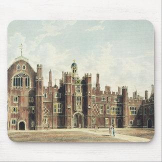 ハンプトンコート宮殿の四角形の眺めのための マウスパッド
