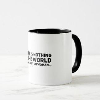 ハンプトンU. Woman マグカップ