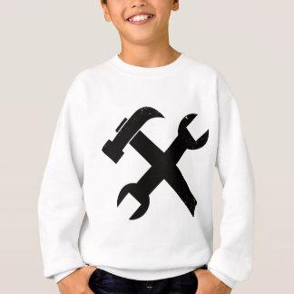 ハンマーおよびレンチ スウェットシャツ