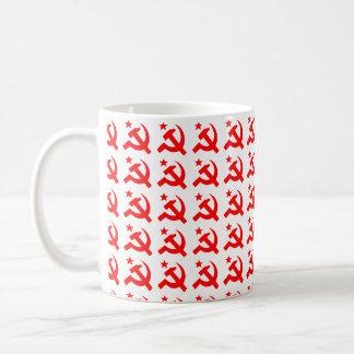 ハンマーの共産主義の印 コーヒーマグカップ
